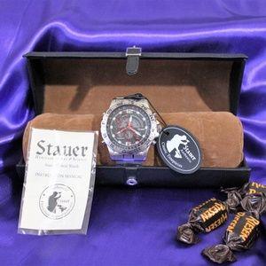 Men's Stauer Compendium Hybrid Watch